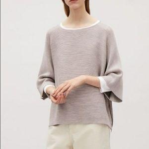 COS   Gray Wool Oversized Sweater XS